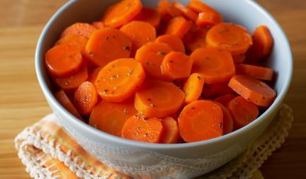 OrangeGlazedCarrots